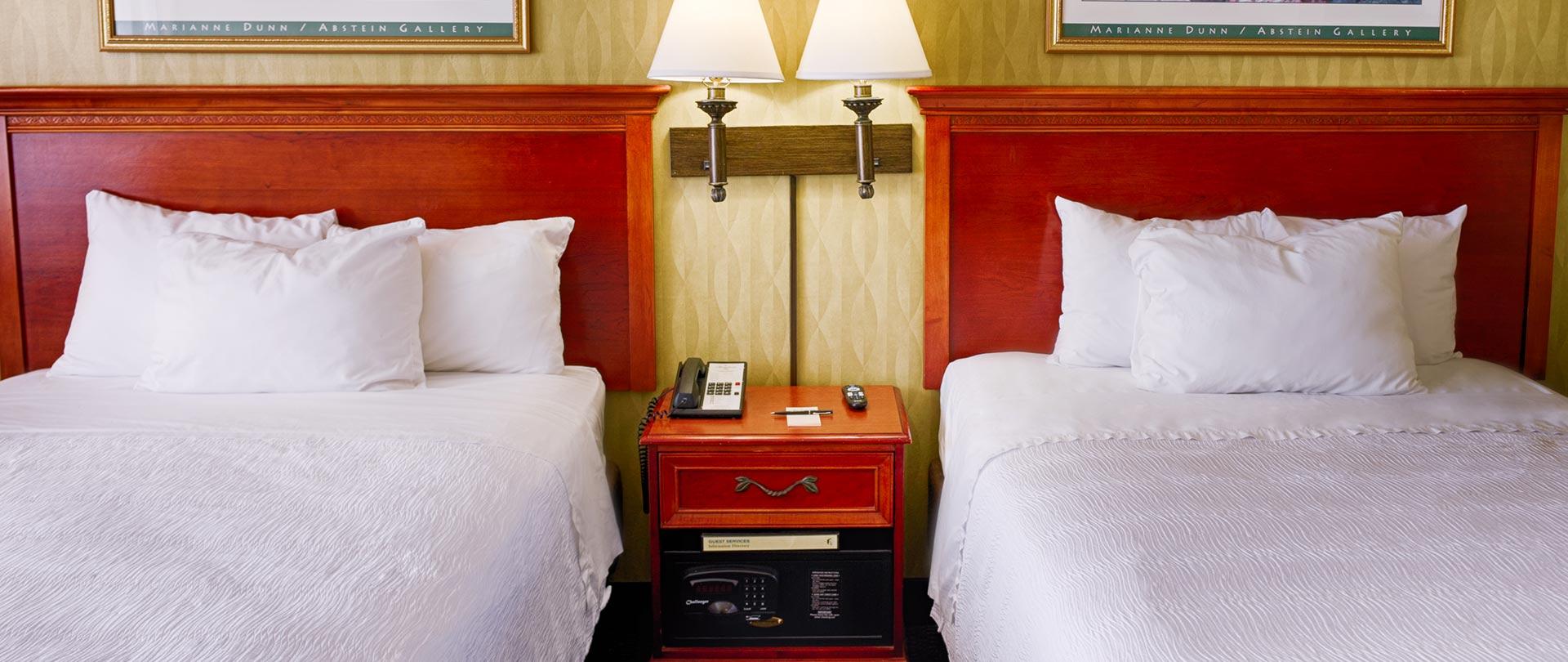 Bedroom at The Oceanfront Inn