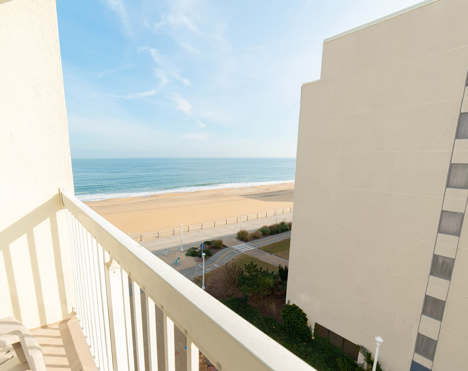 Partial Oceanview Single Room Balcony View